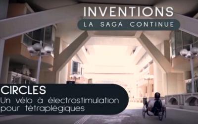 CNRS – CIRCLES, un vélo à électro-stimulation pour tétraplégiques