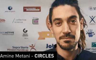 HandiTech – Amine Métani lauréat du Trophy 2019