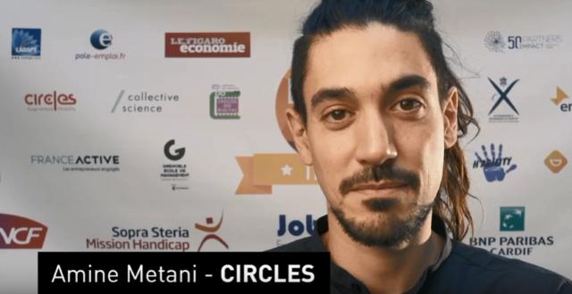 HandiTech Trophy 2019 - Amine Métani - Circles