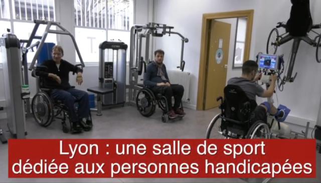 Lyon Mag - Une salle de sport dédiée aux personnes handicapéesLyon Mag - Une salle de sport dédiée aux personnes handicapées