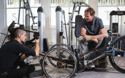 Science et Avenir – Handicap : la stimulation électrique fonctionnelle démontre son intérêt au Cybathlon