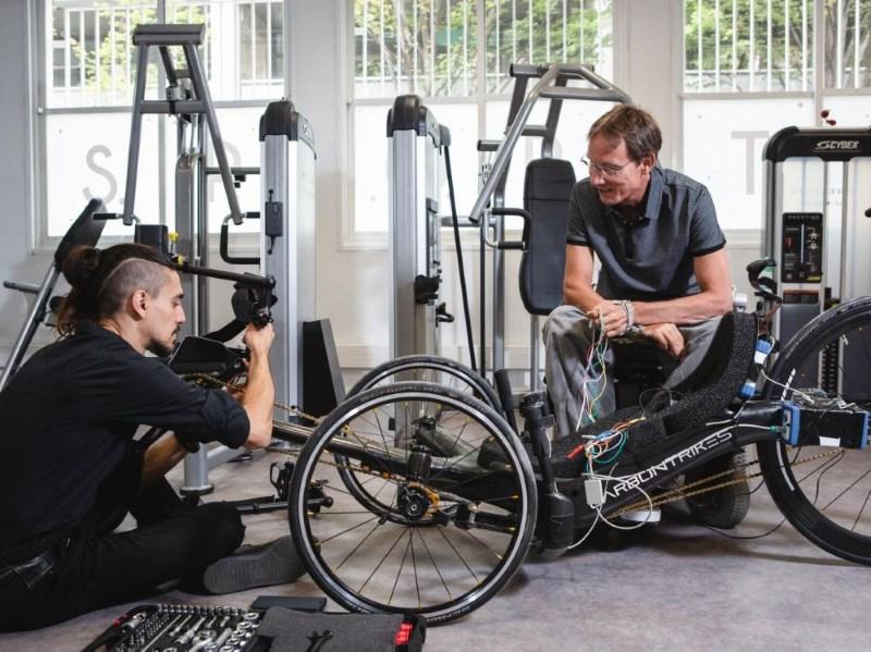 Science et Avenir - Handicap : la stimulation électrique fonctionnelle démontre son intérêt au Cybathlon°